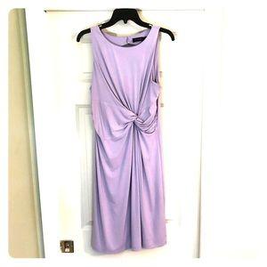 Knee length Lilac dress